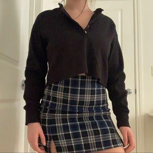 Aritzia Wilfred Free Button Up Sweatshirt